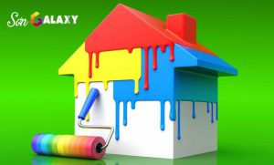 Dịch vụ sơn nhà tại tphcm uy tín Hoàng Hiệp