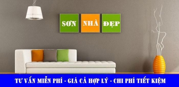 Dịch vụ sơn nhà đẹp trọn gói tại TP.HCM giá rẻ