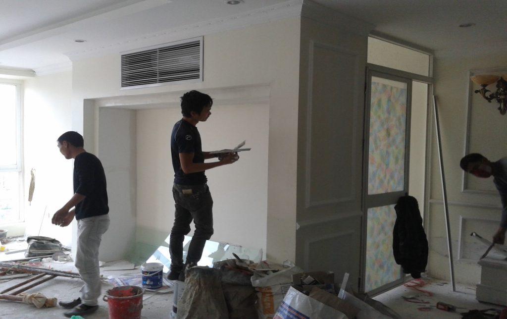 thợ sơn nhà tại quận 7