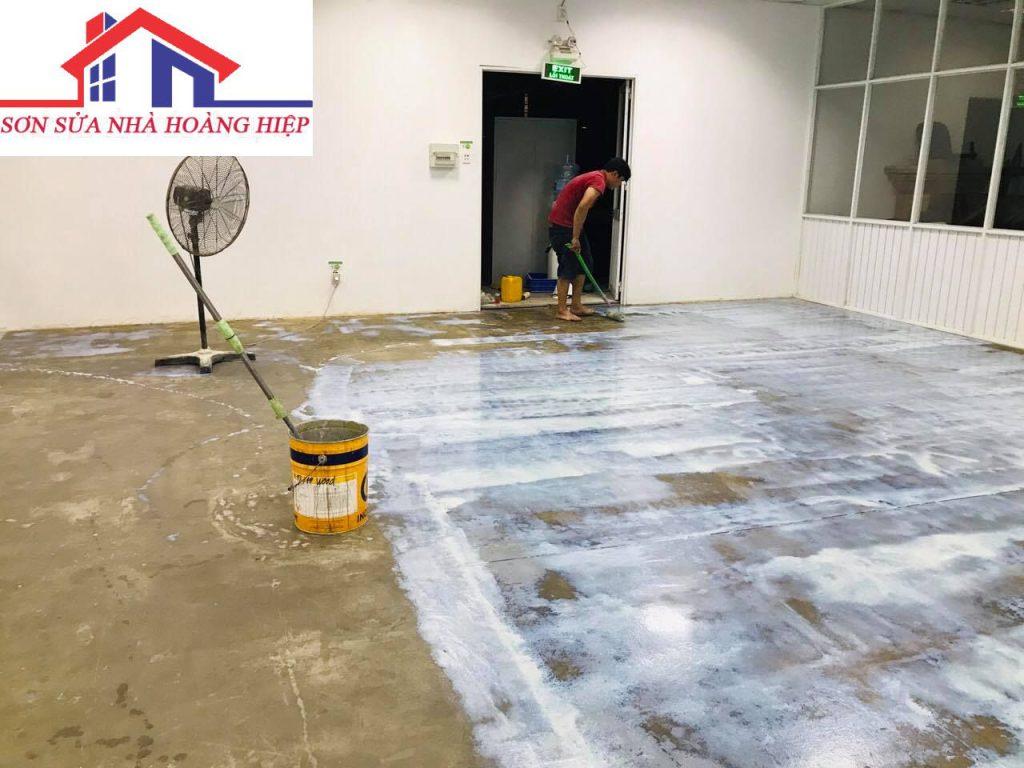 ảnh thi công chống thấm của hoàng hiệp sơn sửa nhà dịch vụ sơn sửa nhà trọn gói