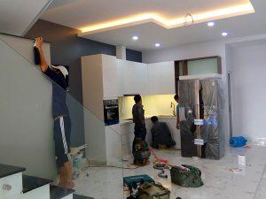 Ảnh thợ sơn sửa nhà quận 1 của hoàng hiệp