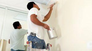Ảnh thợ sơn sửa nhà tại quận 6 của hoàng hiệp