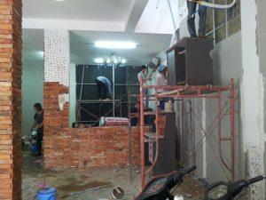 Ảnh thợ sơn sửa nhà tại quận 10 của hoàng hiệp