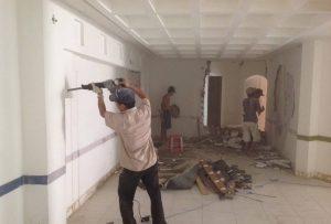 Ảnh thợ sơn sửa nhà tại quận 12 của hoàng hiệp