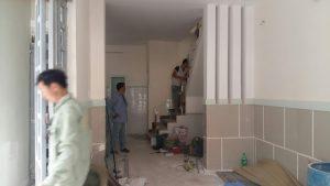 Ảnh thợ sơn sửa nhà tại quận 2 của hoàng hiệp
