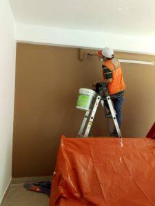 Ảnh thợ sơn sửa nhà tại quận 9 của hoàng hiệp
