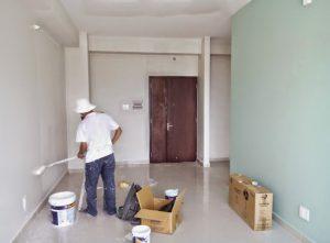 Ảnh thợ sơn sửa nhà tại quận 11 của hoàng hiệp