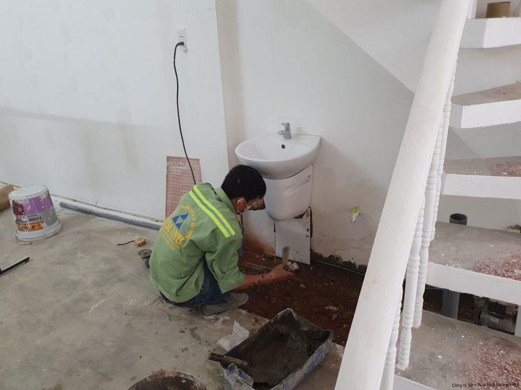 Sửa chữa nhà quận 6 -Hoàng Hiệp