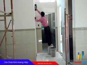 ảnh thợ sơn nhà tại quận 11