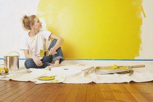 lỗi thường gặp khi sơn nhà