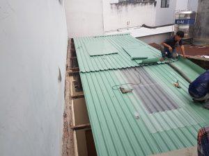 hình ảnh Thay mái tôn cũ tại hcm