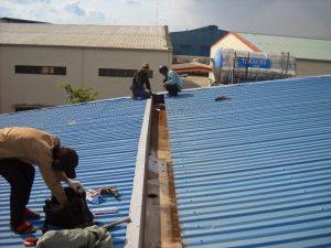 dịch vụ chống dột mái tôn nhà xưởng
