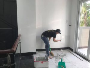 thợ sơn nhà hoàng hiệp sơn lại nhà cũ