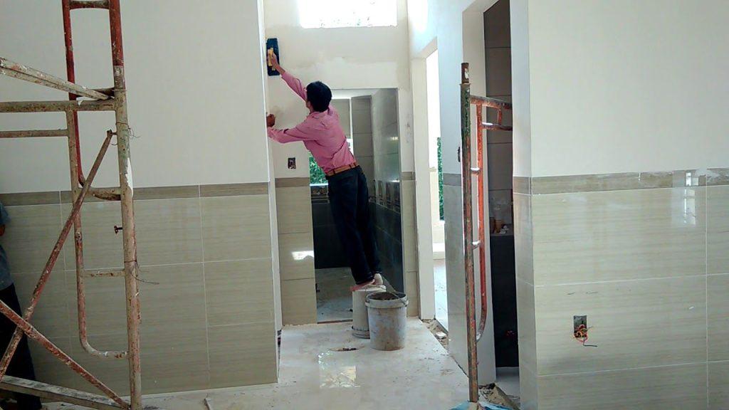 thợ sơn tường