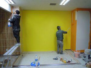 thợ sơn nhà bến cát