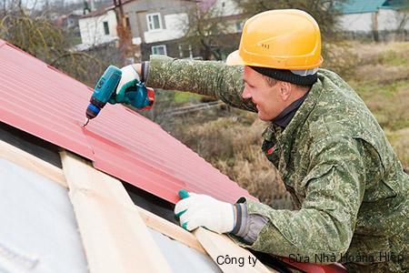 Sửa mái tôn