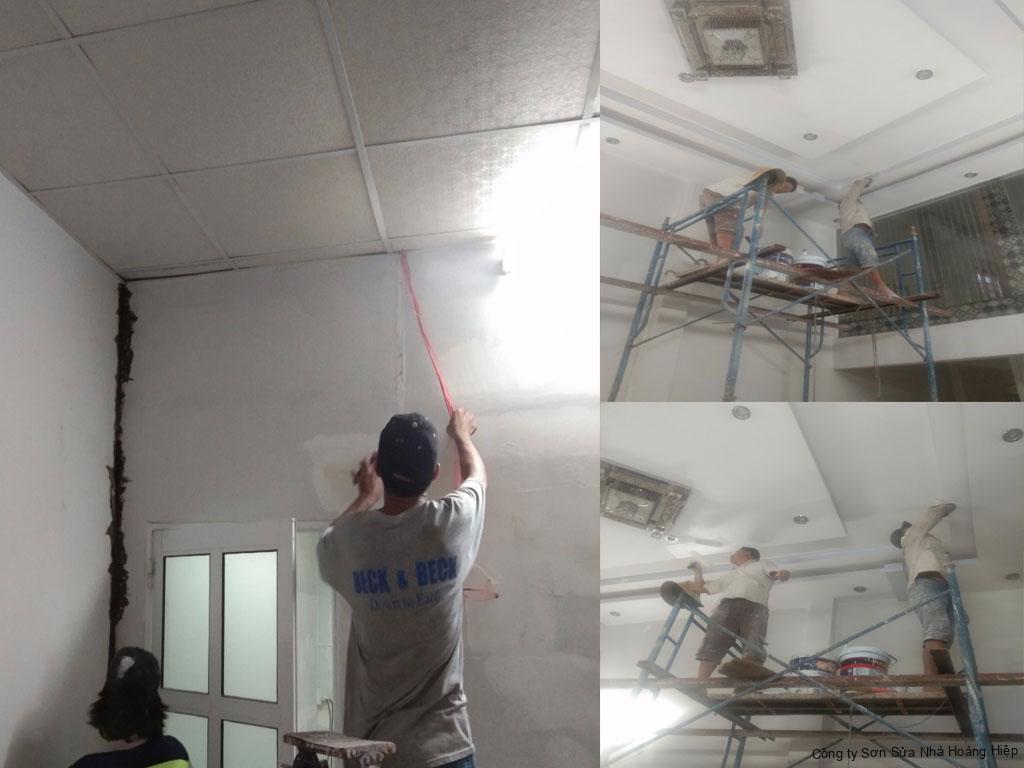 Thợ sơn nhà Bình Chánh 1