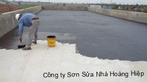 Dịch vụ chống thấm quận Phú Nhuận
