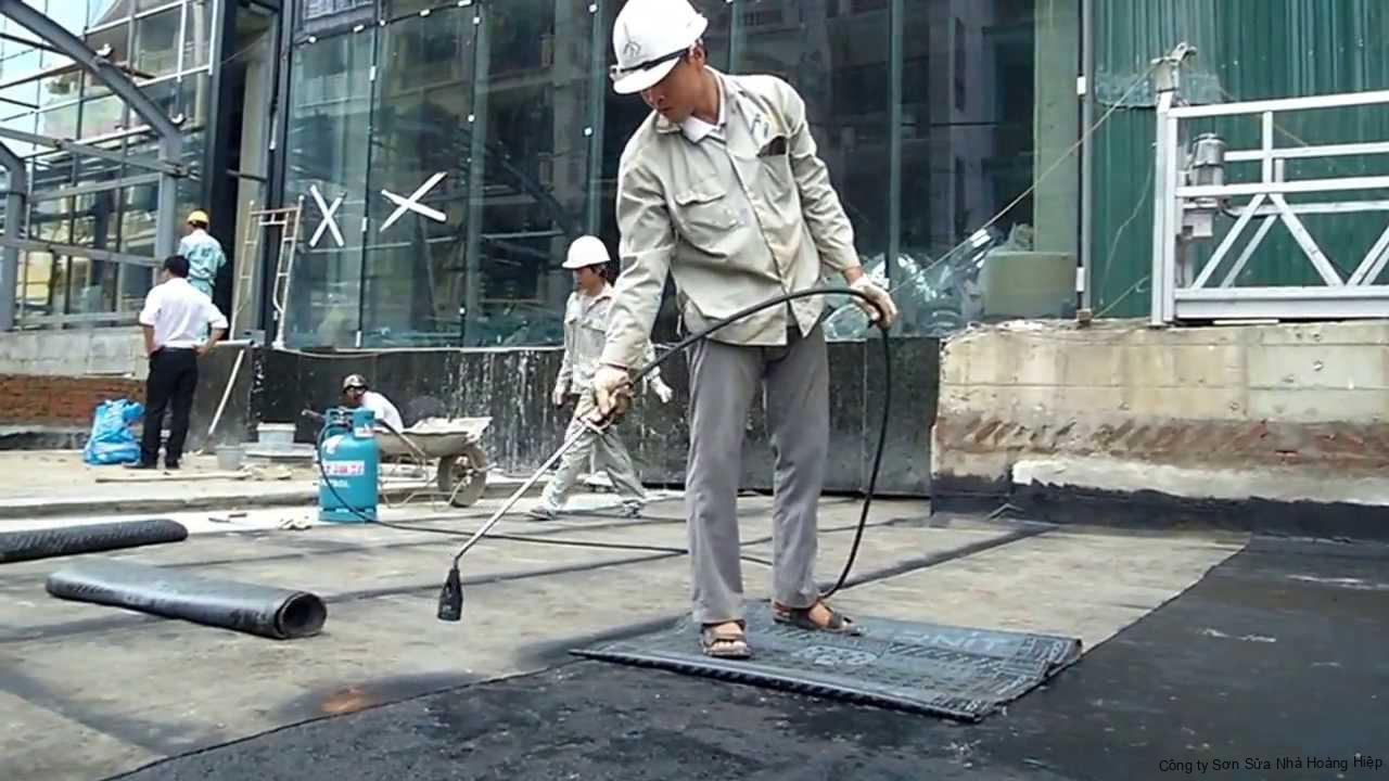 Dịch vụ chống thấm quận Tân Bình