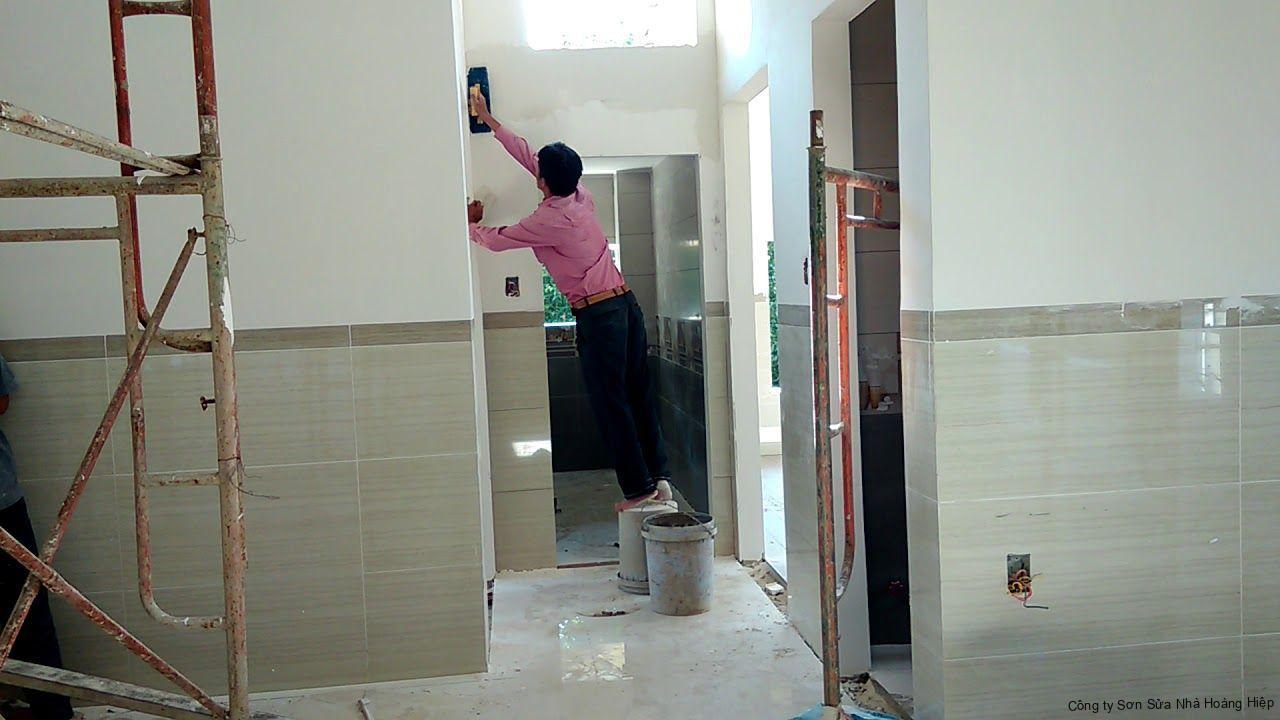 Thợ sơn nhà Bình Chánh