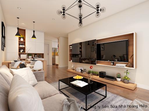 Ưu tiên lựa chọn gam màu sáng cho căn hộ 80m2 thoáng đãng