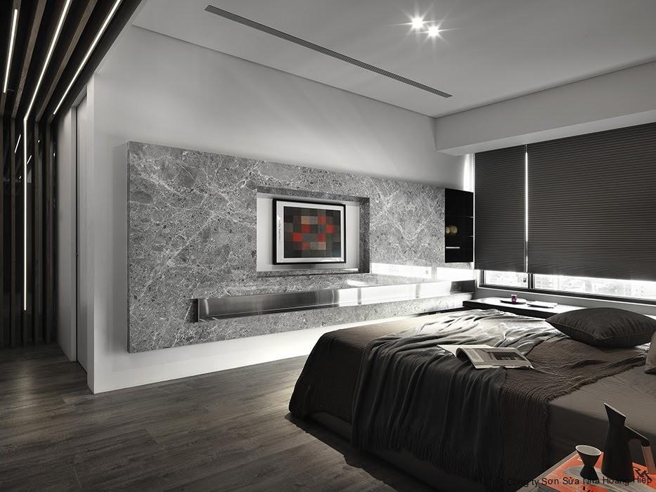 Tạo điểm nhấn độc đáo sẽ giúp cho căn hộ 80m2 trở nên đẹp cuốn hút, giảm bớt tính đơn điệu