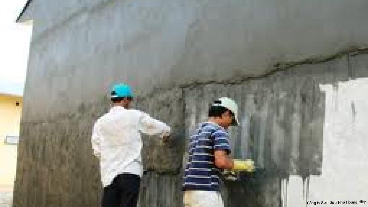 Chống Thấm Tường Uy Tín Triệt Để 100% - Hoàng Hiệp 4