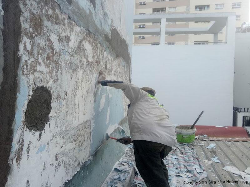 Chống Thấm Tường Uy Tín Triệt Để 100% - Hoàng Hiệp 3